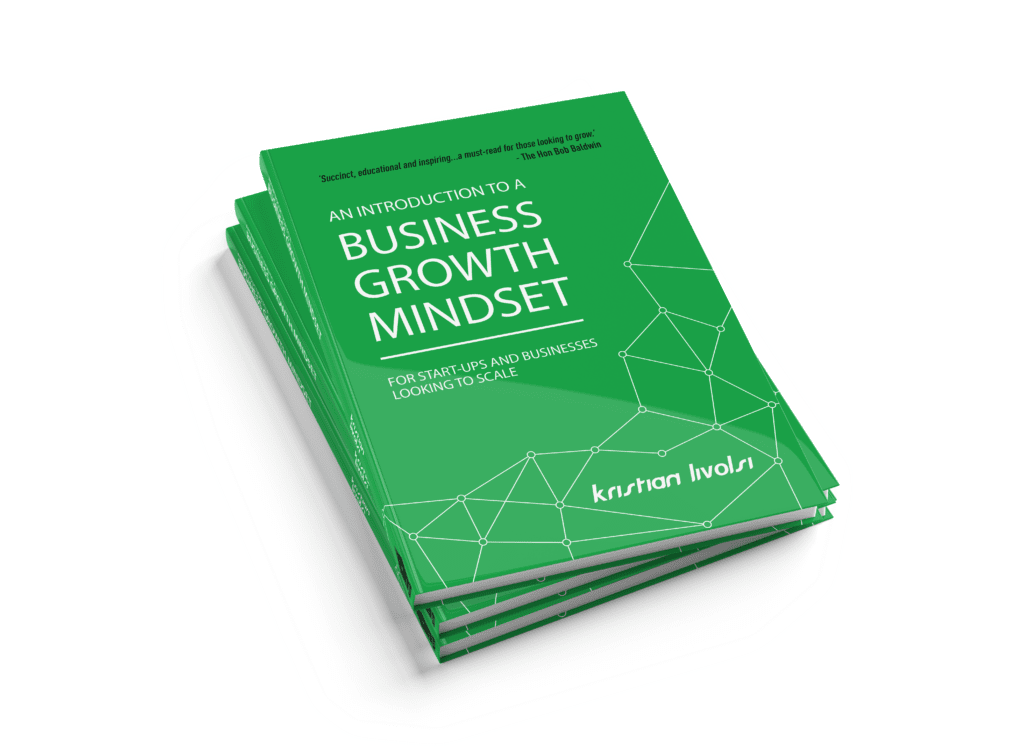 Kristian Livolsi Author - An Introduction to a Business Growth MIndset