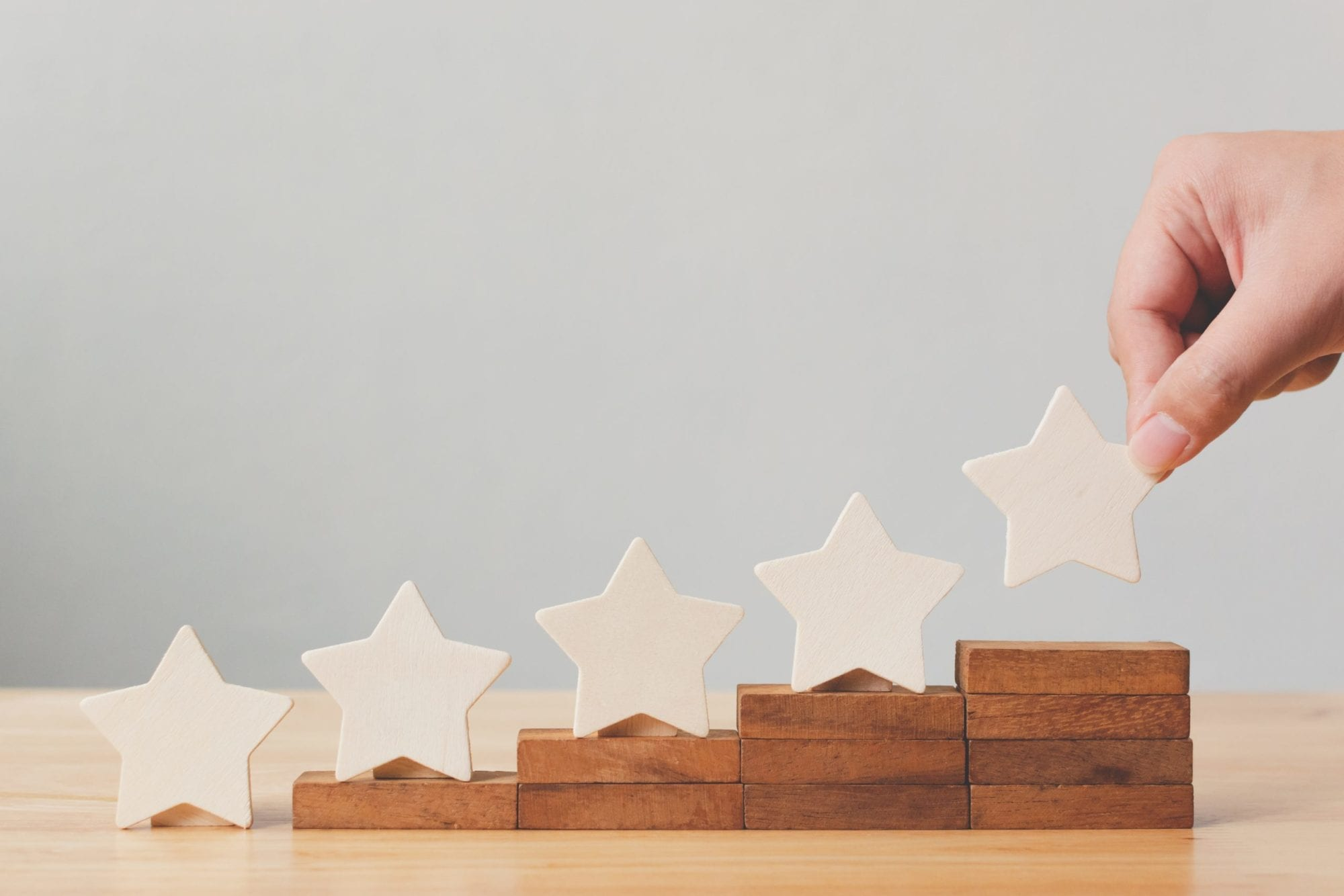 7 AREAS OF CONSTANT GROWTH | 5 Stars inclined